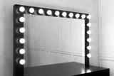 mirror bulbs at make up room - 224106395