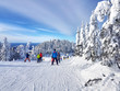 Scenic view of a ski resort Mont-Tremblant
