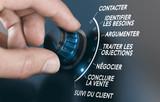 Techniques de vente, étapes et stratégie commerciale des forces de vente pour vendre un produit ou un service à un client. - 224133194