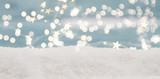 weihnachten hintergrund karte sterne bokeh - 224144980