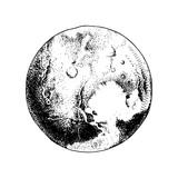 Hand drawn planet Pluto - 224149932