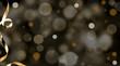 Leinwandbild Motiv Weihnachten Glamour Hintergrund
