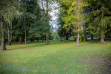 park in early autumn - 224166171