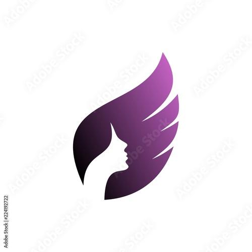 Beauty Care Logo Design Beauty Salon And Hair Style Logo Vector