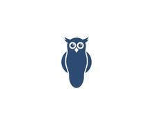 Owl Logo Sticker