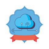 cloud computing storage download upload data