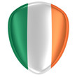 3d rendering of an Ireland flag icon. - 224386992