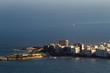 Quadro Aerial view of the Copacabana fort and part of the beach (Rio de Janeiro, Brazil)