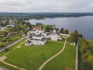 The Ferapontov Monastery. Vologda landscape
