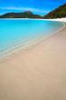 Leinwanddruck Bild - Praia de Rodas beach in islas Cies island of Vigo