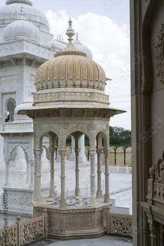 Foto Murales Dome of monument, Jaipur, India