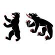 Heraldic bears vector