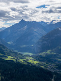 Ausblick vom Gibel ins Haslital, Berner Oberland