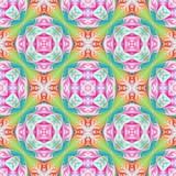 Beautiful seamless flower pattern in fractal design. Artwork for creative design, art and entertainment. - 224537528
