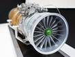 Turbojet engine for military aircraft fighter