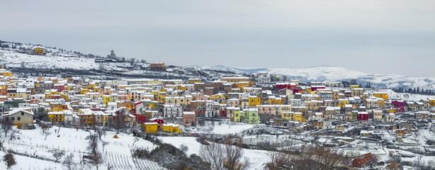 Colorful village © antoniocolangelo