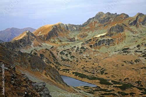 Valley of Five Lakes near Zakopane. Poland