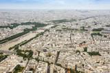 Parigi vista dalla cima della Torre Eiffel