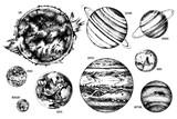 Solar system illustration - 224616165