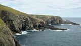 wild atlantic coast in Ireland
