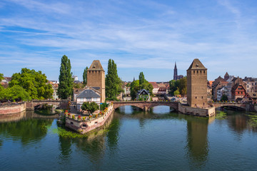 Ponts couverts in Straßburg