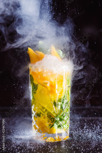 Food photography professional studio shot alcoholic beverage