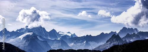 Leinwandbild Motiv alpenpanorama