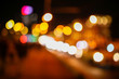 Bokeh city at night as an abstract background - 224701520