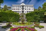 Villa Carlotta and gardens in Tremezzo, Lake Como, Lombardy, Northern Italy. - 224712361