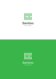 Bamboo logo teamplate.