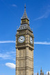 Big Ben clock, Houses of Parliament in Westminster, London