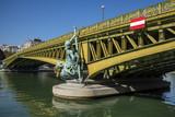 Pont Mirabeau, bridge  in Paris over the river Seine, Paris, France