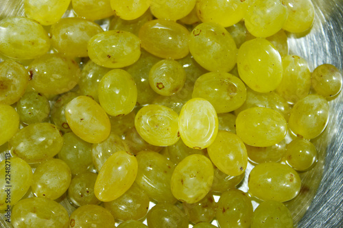 Cropped Shot Of Grape. Food, Nature, Health Concept.  - 224827113