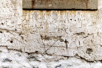 Described wall