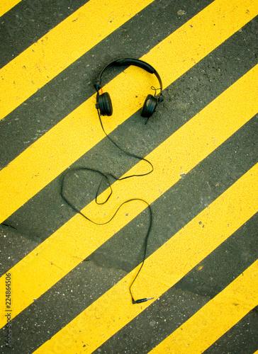 Club Flyer | Headphones - 224864506