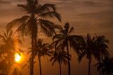 sunrise on the beach, maldives - 224866193