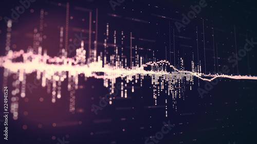 Sound Waves Background - 224941524