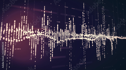 Digital Abstract Background Image Representation - 224941534
