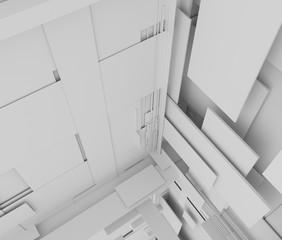 抽象的な空間