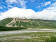 Canadian Rockies, Saskatchewan Crossing scenic mountain views and landscapes