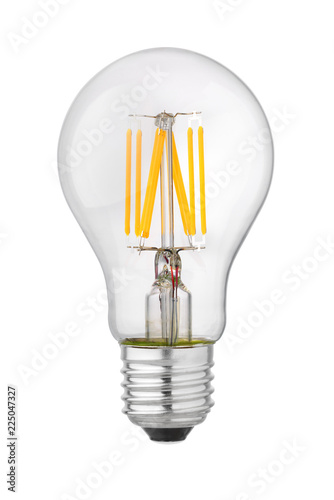 Foto Murales LED filament isolated