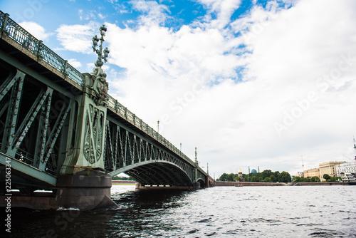 Brücke in St. Petersburg