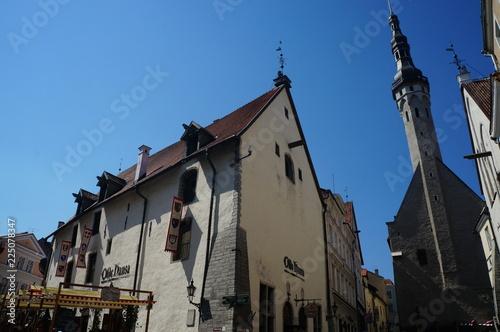 canvas print picture Tallinn: Altstadt