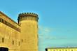 canvas print picture - Castel Nuovo in Neapel