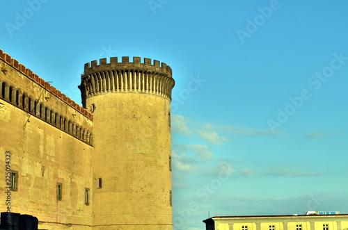 canvas print picture Castel Nuovo in Neapel