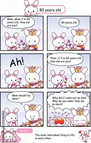 rabbit cartoon story