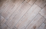 tiled wood board floor - wooden parquet  tiles / laminate - 225109168