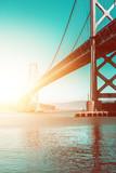 Suspension Bridge (Bay Bridge in San Francisco)