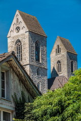 The old city of Rapperswil, Sankt Gallen, Switzerland