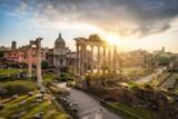Ruinen des Forum Romanum in Rom, Italien